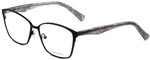Vera Wang Designer Eyeglasses V344 in Black 53mm :: Progressive