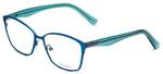 Vera Wang Designer Eyeglasses V344 in Blue 53mm :: Progressive
