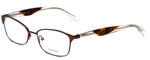 Vera Wang Designer Eyeglasses V349 in Brown 53mm :: Progressive