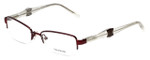 Vera Wang Designer Reading Glasses V327 in Burgundy 50mm
