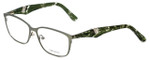 Vera Wang Designer Reading Glasses V328 in Verde 53mm