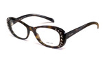 Prada Designer Eyeglasses VPR21R in Tortoise 51mm :: Rx Single Vision