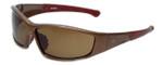 Harley-Davidson Designer Sunglasses HDS5018-BRN in Brown with Brown Lens