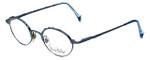 Nicole Miller Designer Eyeglasses 1257 Ozone in Antique Blue 49mm :: Custom Left & Right Lens