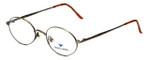 Dakota Smith Designer Eyeglasses Artville DS0910-1047 in Bronze 49mm :: Progressive