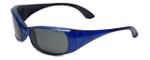 Carrera Prometheus 52R Designer Sunglasses in Blue with Grey Lens