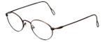 Ralph Lauren Polo Designer Eyeglasses Classic Collection  141 in Bronze 50mm :: Custom Left & Right Lens