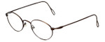 Ralph Lauren Polo Designer Eyeglasses Classic Collection  141 in Bronze 50mm :: Rx Single Vision