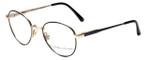 Ralph Lauren Polo Designer Eyeglasses Classic Collection 170 in Black-Gold 45mm :: Progressive