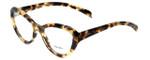 Prada Designer Eyeglasses VPR25R-7S01O1 in Tokyo Tortoise 52mm :: Custom Left & Right Lens