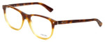 Prada Designer Eyeglasses VPR17R-TKU1O1 in Light Havana 54mm :: Rx Bi-Focal