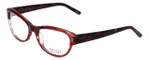 Badgley Mischka Designer Eyeglasses Madeline in Wine 53mm :: Progressive
