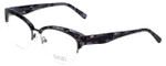 Badgley Mischka Designer Eyeglasses Vivianna in Black 54mm :: Rx Bi-Focal