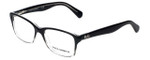Dolce & Gabbana Designer Eyeglasses DD1246-2602 in Black-Fade 52mm :: Progressive