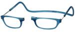 Clic Designer Eyeglasses Original Style in Frosted-Blue Jeans :: Rx Bi-Focal