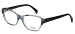 Ray-Ban Designer Reading Glasses RB5341-5571 in Black-Fade 53mm