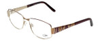 Cazal Designer Eyeglasses 1092-004 in Gold-Red 55mm :: Rx Single Vision