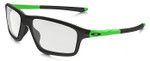 Oakley Designer Eyeglasses Crosslink  Zero OX8076-05 in Matte Black 56mm :: Custom Left & Right Lens
