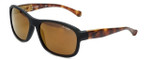 Arnette Designer Sunglasses Uncorked AN4209-22737D in Matte-Black & Copper Mirror
