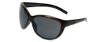 Porsche Designer Sunglasses P8524-C in Brown-Striped with Grey Lens