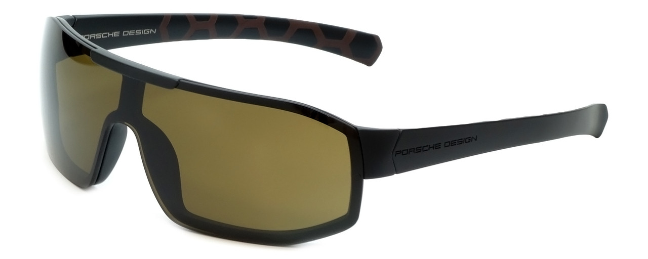 b407441ee203 Source · Porsche Designer Sunglasses P8527 D in Black with Brown Lens