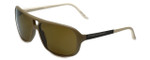 Porsche Designer Sunglasses P8557-D in Matte-Tan with Brown Lens