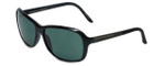 Porsche Designer Sunglasses P8558-A in Black with Green Lens