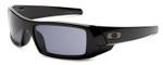 Oakley Designer Sunglasses Gascan 03-471 in Black with Grey Lens