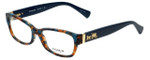 Coach Designer Reading Glasses HC6078-5337 in Teal Confetti 52mm