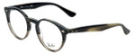 Ray-Ban Designer Eyeglasses RB2180V-5540 in Grey-Horn 49mm :: Custom Left & Right Lens