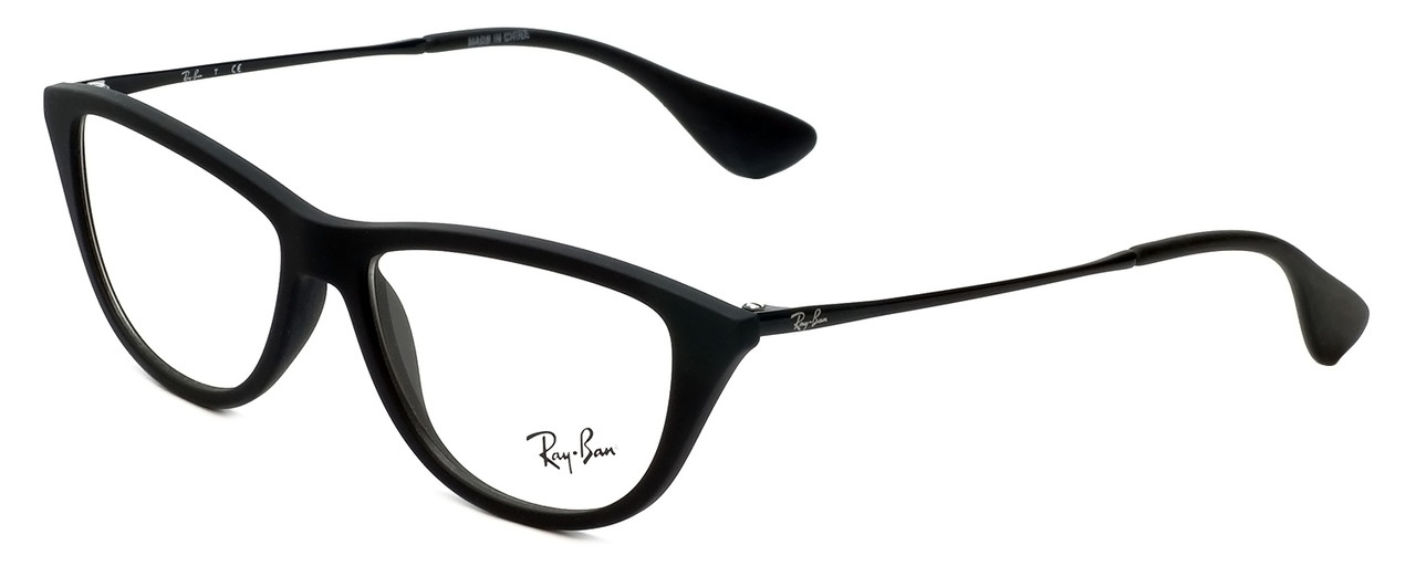 9623abc466 Ray-Ban Designer Reading Glasses RB7042-5364 in Rubber-Black 54mm ...