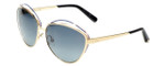 Christian Dior Designer Sunglasses Songe JPF in Gold with Grey Gradient Lens