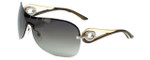 Christian Dior Designer Sunglasses Volute3 61E in Rimless with Brown Gradient Lens