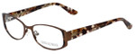 Corinne McCormack Designer Eyeglasses Murray Hill in Brown 52mm :: Progressive