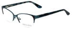 Corinne McCormack Designer Reading Glasses Gramercy in Teal 52mm