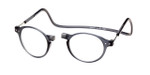 Clic Magnetic Eyewear Regular Fit Brooklyn in Grey :: Rx Single Vision