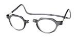 Clic Magnetic Eyewear Regular Fit Metro in Grey :: Custom Left & Right Lens