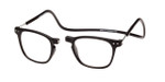 Clic Magnetic Eyewear Regular Fit Manhattan in Black :: Custom Left & Right Lens