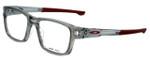 Oakley Designer Eyeglasses Splinter OX8077-0352 in Grey-Cardinal 52mm :: Custom Left & Right Lens