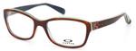 Oakley Designer Eyeglasses Junket OX1087-0252 in Tortoise-Sky 52mm :: Rx Single Vision