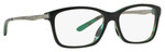 Oakley Designer Eyeglasses Nine To Five OX1127-0252 in Green-Tortoise 52mm :: Rx Single Vision