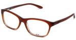 Oakley Designer Eyeglasses Taunt OX1091-0452 in Brown-Fade 52mm :: Progressive