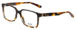 Oakley Designer Eyeglasses Confession OX1128-0552 in Brown-Tortoise 52mm :: Progressive