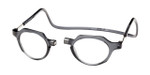 Clic Magnetic Eyewear Regular Fit Metro in Grey :: Progressive