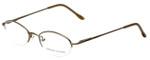 Adrienne Vittadini Designer Eyeglasses AV6008-112 in Gold 47mm :: Custom Left & Right Lens