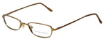 Adrienne Vittadini Designer Eyeglasses AV6027-134  in Gold 47mm :: Rx Single Vision