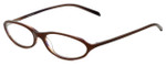 Adrienne Vittadini Designer Eyeglasses AV7014-621 in Brown 50mm :: Rx Single Vision
