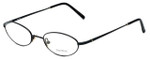 Vera Wang Designer Eyeglasses V112 in Black 50mm :: Custom Left & Right Lens