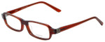 Vera Wang Designer Eyeglasses V147 in Burgundy 52mm :: Progressive