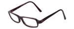 Vera Wang Designer Reading Glasses V147 in Violet 52mm